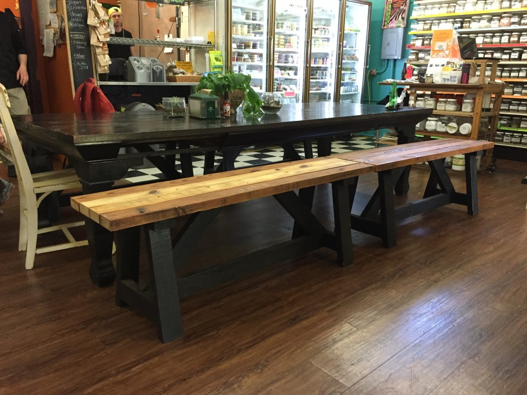 ClintonvilleCommunityMarketBenches
