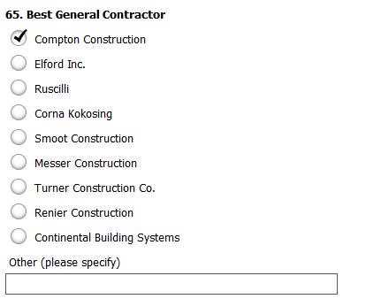 Vote General Contractor