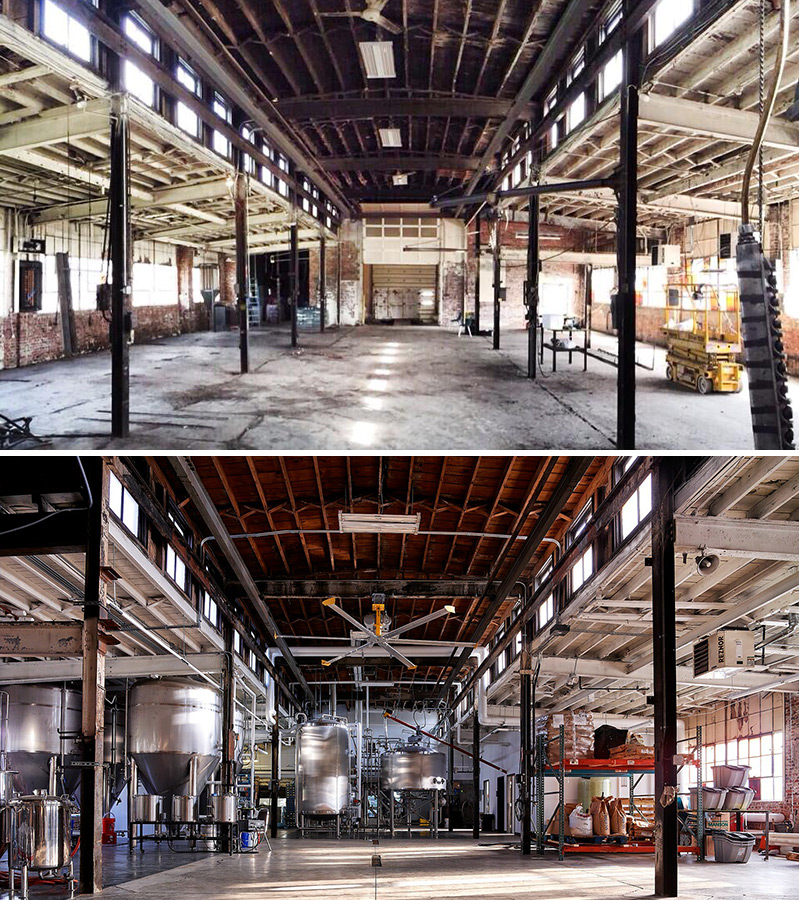 What is adaptive reuse compton construction for Office 606 design construction llc