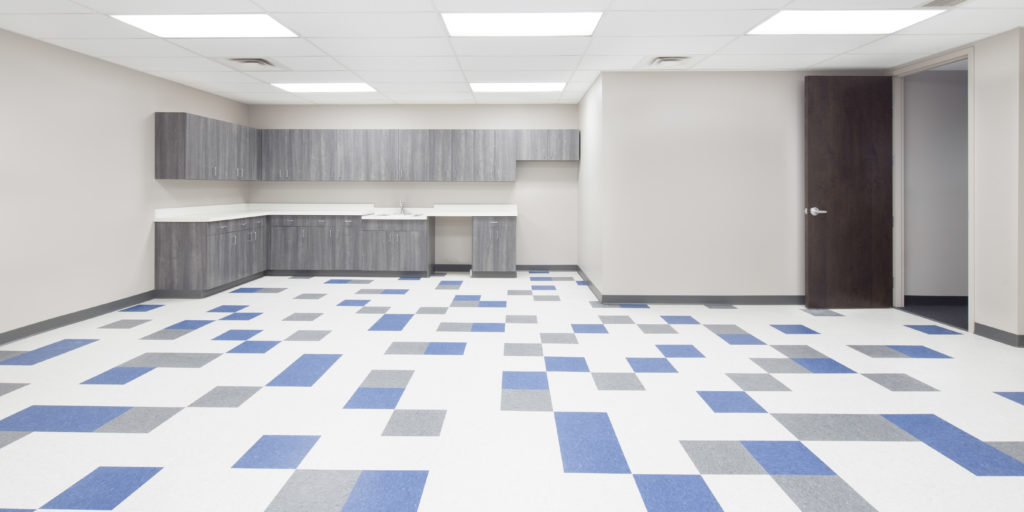 Break Room Flooring : Law office renovation completed compton construction