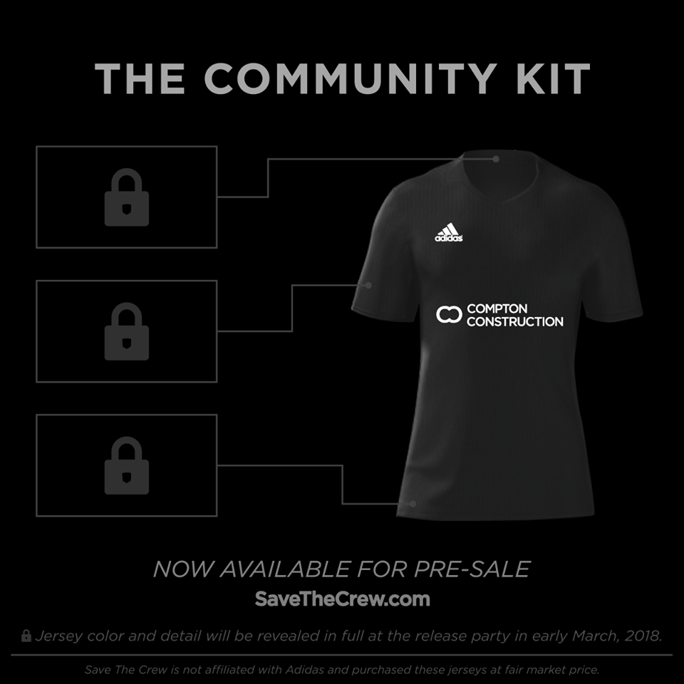 SaveTheCrew.com Community Kit Sponsor