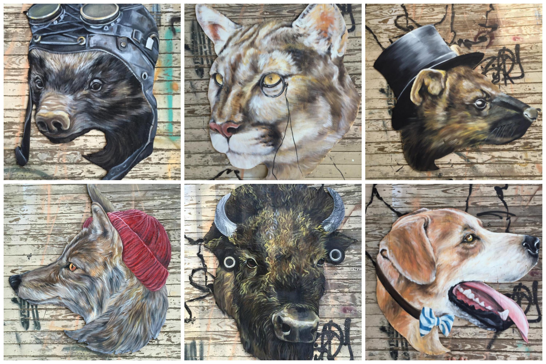 spirit animal Collage